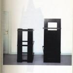 Jan Vercruysse, Tombeaux, veduta 1990 Galleria Pieroni. Foto Attilio Maranzano