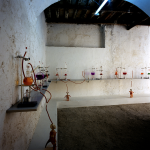 Miriam Laplante, Elisir Laboratorio, 2004, collezione privata. Foto Rodolfo Fiorenza