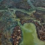 Edward Burtynsky  Oil Bunkering #4, Niger Delta, Nigeria 2016  photo © Edward Burtynsky, courtesy Admira Photography, Milan / Nicholas Metivier Gallery, Toronto