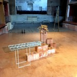Andrea Kantos, Tokonoma, 2019, installazione, Teatro Garibaldi, Palermo