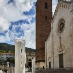 Atchugarry-SENZA TITOLO, 2019, Marmo Statuario di Carrara, 296 x 78 x 56 cm @DanieleCortese