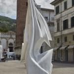 NATURALEZA, 2000, Marmo statuario di Carrara, 282x105x80 cm @DanieleCortese