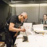 Atelier Juan Bolivar. Foto Giovanna Scozzese