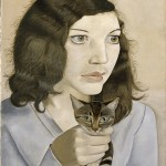 Lucian Freud_Girl with a Kitten_ BACON, FREUD E LA SCUOLA DI LONDRA