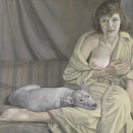 Lucian Freud_Girl with a White Dog_BACON, FREUD E LA SCUOLA DI LONDRA
