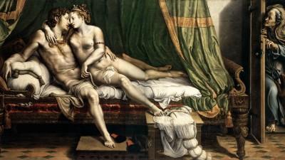 Giulio Romano, Due amanti, 1524