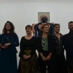 Emmanuele Emanuele, Lorenza Bonaccordi e gli artisti