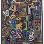 Corrado Cagli, 1973, Tripudio, arazzo, 330x264 cm