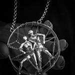 Ciondolo in alluminio by Lina Mancini