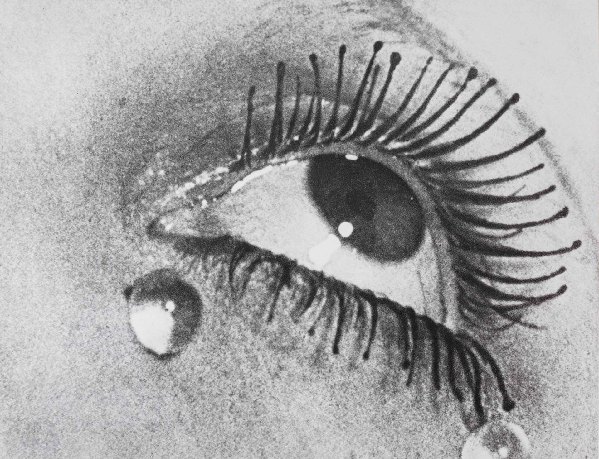 MAN RAY, Glass Tears, 1976, Photo by Renato Ghiazza