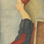 Portrait of Jeanne Hébuterne. Collezione Netter