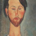 Ritratto di Zborowski, 1916. Collezione Netter