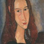 Ritratto di ragazza dai capelli rossi. Collezione Netter