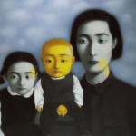Zhang Xiaogang, Bloodline series. Courtesy SIgg Collection