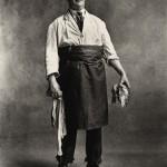 Irving Penn | Fishmonger, London, 1950 ©Condé Nast