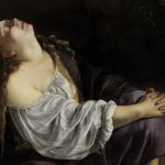 Artemisia Gentileschi, Mary Magdalen in Ecstasy,Romec.1620-25 Priv. Europ. Coll.Photo Saint  Louis Art Museum