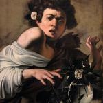 Caravaggio, Boy Bitten by a Lizard 1597.98, Firenze,Fondazione di Studi di Storia dell'Arte Roberto Longhi