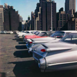 Evelyn Hofer Car Park, New York 1965 © Estate Evelyn Hofer, courtesy Galerie m, Bochum