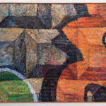 Keegan Monaghan, The Wall (2019-20). Image courtesy Artnet News