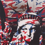 Andy Warhol Statue of Liberty (Fabis) 1986 The Broad Museum (Los Angeles, USA)  © 2020 The Andy Warhol Foundation for the Visual Arts, Inc. / Licensed by DACS, London.