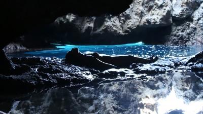 Nora Lux, La grotta segreta. Cover