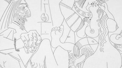 Picasso, Raffaello e la Fornarina