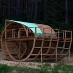 Jiri Prihoda, Diogenes Barrel (Poetry Pavilion), 2018___1