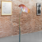 (Foreground) Alina Szapocznikow, Sculpture-Lampe IX, 1970. Pinault Collection. © Alina Szapocznikow by SIAE 2020. Installation View 'Untitled, 2020. Three perspectives on the art of the present' at Punta della Dogana, 2020 © Palazzo Grassi, photography Marco Cappelletti.
