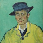 Van Gogh, Ritratto di Armand Roulin, 1888