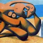 Picasso, Figure al mare