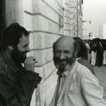Harald Szeemann con Vittorio Gregotti_1975