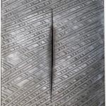 Lucio Fontana_ Concetto spaziale Attesa_1961_olio e taglio su tela