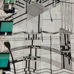 Sten Lex, Paesaggio Industriale, Stencil Poster, Wunderkammern, Roma 2013, Outdoor Festival LR
