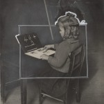 """Computer primordiale, giornale """"Sunday Times Magazine"""", 1920-1930, Collezione Archive of Modern Conflict, Londra"""