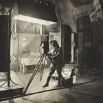 Lo studio come teatro di posa, 1917-1918. Archives nationales, Francia