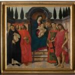 Pala del Trebbio Botticelli, Galleria dell'Accademia Firenze