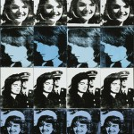 Andy Warhol (Andrew Warhola Jr.; Pittsburgh, Pennsylvania 1928-New York 1987), Sixteen Jackies, 1964. © The Andy Warhol Foundation for the Visual Arts Inc.