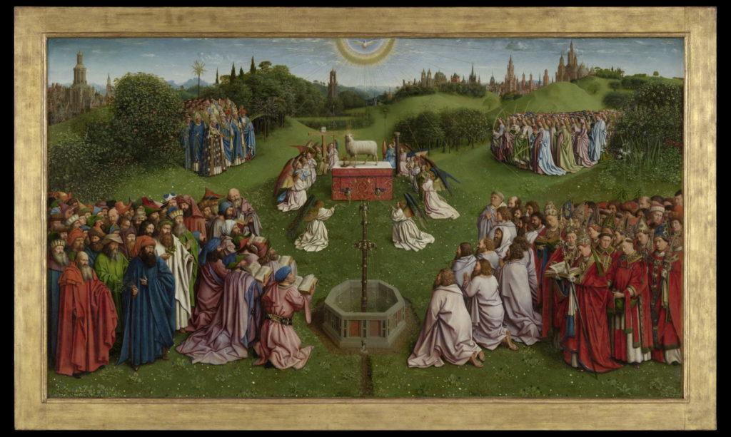 Agnello mistico di Van Eyck