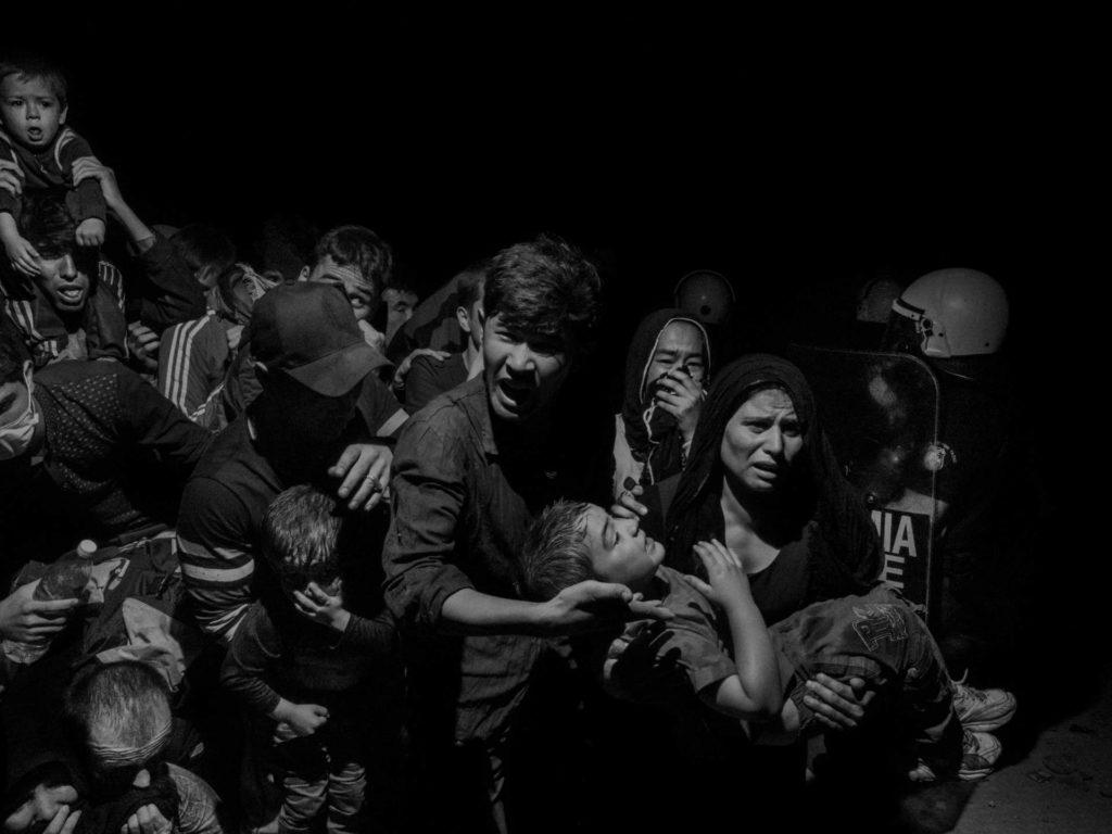 Alex Majoli. Scene #0410. Greece, Lesbos, Mytilene, 2015