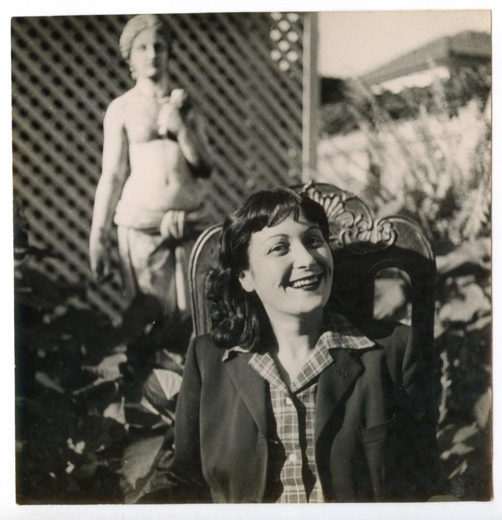 Lina Bo Bardi, foto di Pietro Bardi, 1947. Courtesy Instituto Bardi