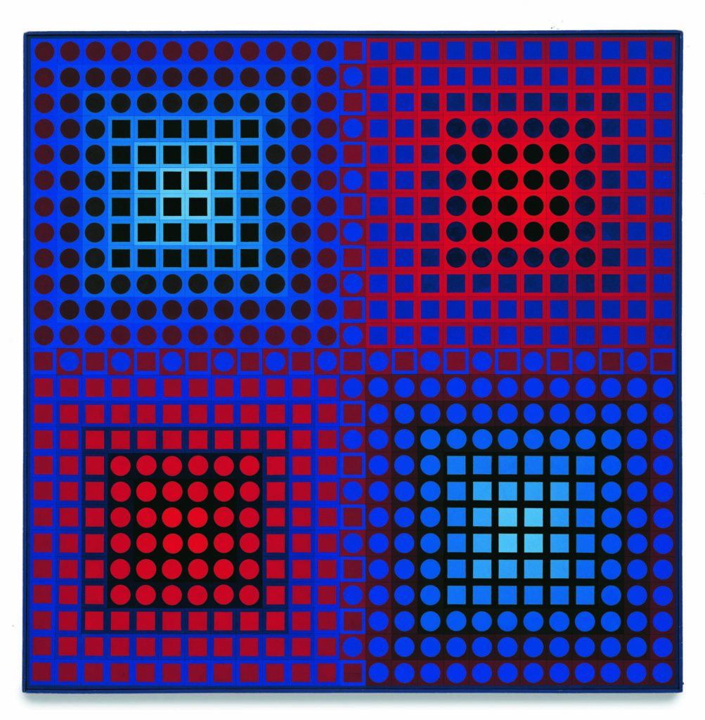Victor Vasarely, EG-I, 1967